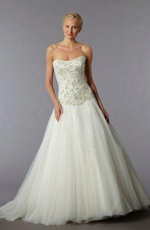 Bridal Gowns: Perla D by Pnina Tornai Princess/Ball Gown Wedding ...