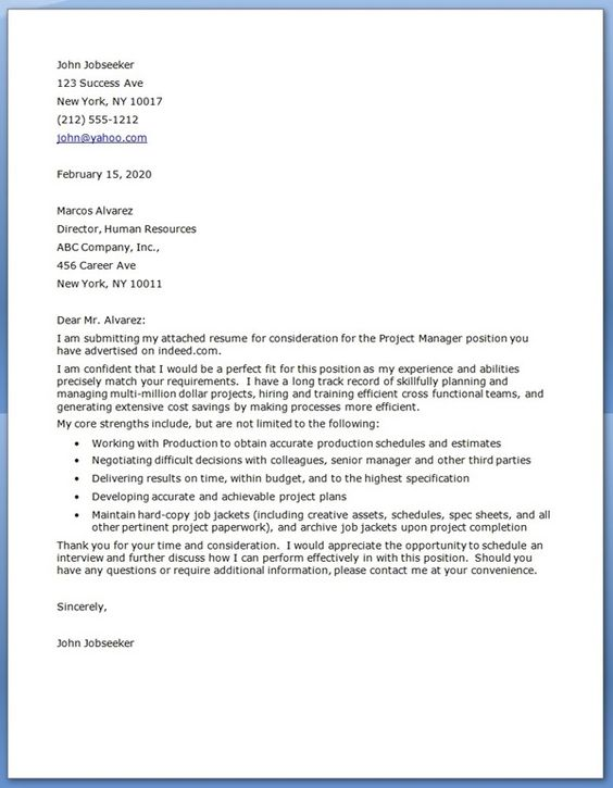 Best Sample Cover Letters  Need even more Attention-Grabbing - what should a cover letter for a resume look like