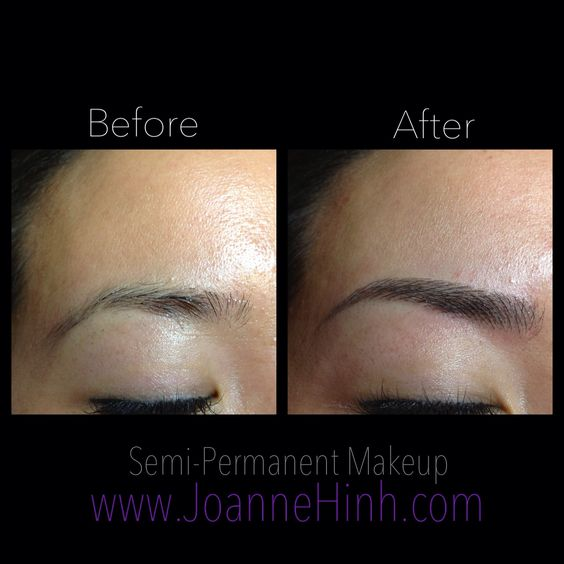 Eyebrows Brows And Permanent Makeup On Pinterest