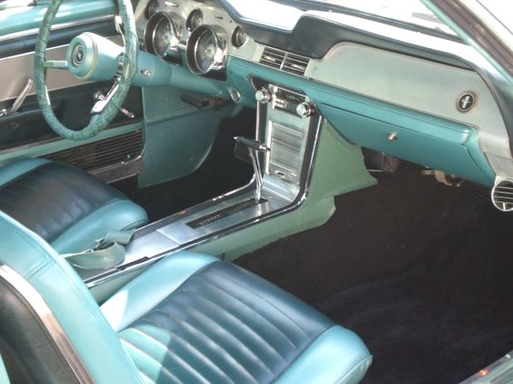 1967 ford mustang coupe - 1967 Ford Mustang Coupe Interior