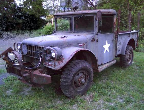 1953 Dodge M37 Military Grade Http Barnfinds Com 1953