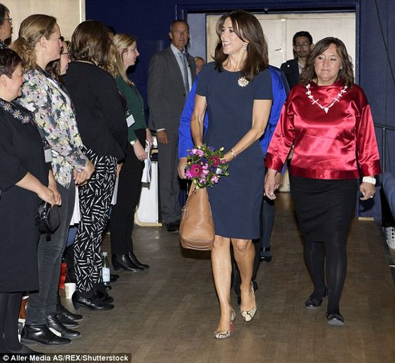 Royal welcome! She only recently arrived back in Denmark from the Rio Olympics, but Crown Princess Mary was on the move again last week during a visit to Greenland