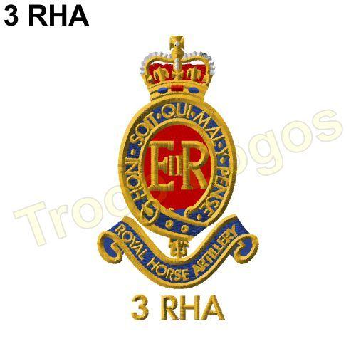 BRITISH ARMY 7 PARA RHA 7TH PARACHUTE REGIMENT ROYAL HORSE ARTILLERY T-SHIRT