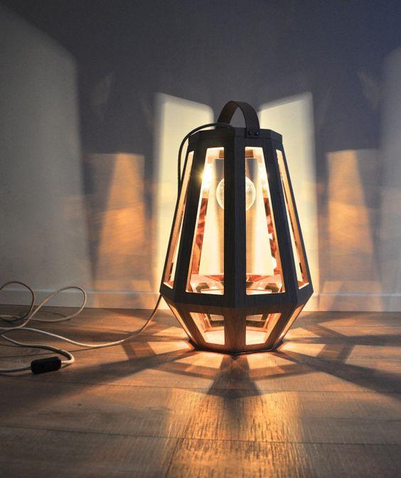 Lampen Design aus Holz