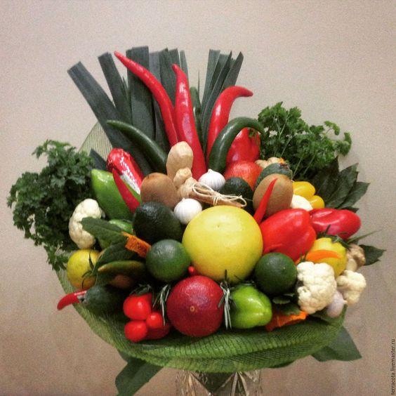 букет из овощей - Поиск в Google: