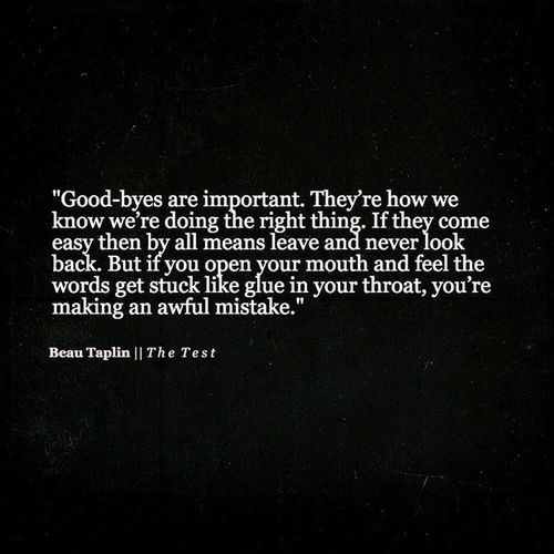 Beau Taplin | The Test