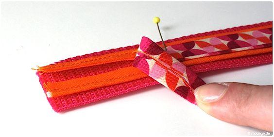 kleines accessoire diy schl sselband n hen handmade stuff pinterest selber machen. Black Bedroom Furniture Sets. Home Design Ideas