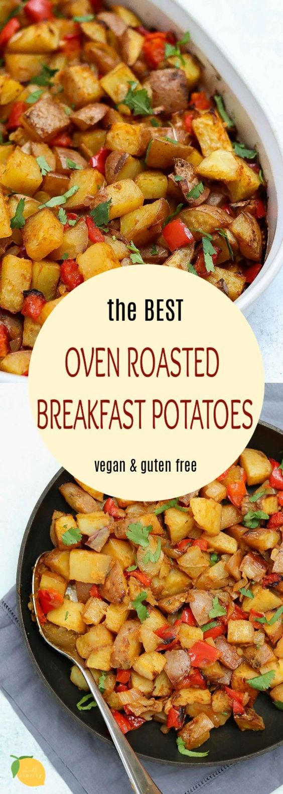 The Best Oven Roasted Breakfast Potatoes