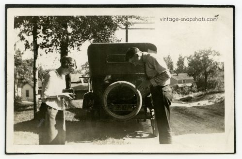 Dueling Cameras « Vintage Snapshots