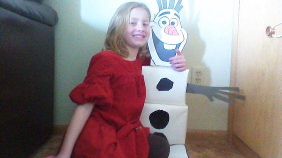 Abbie's Olaf Valentines box!
