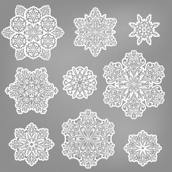 Vector Paper Cut Snowflakes  #GraphicRiver         Vector paper cut snowflakes, fully editable eps 10 file     Created: 19November13 GraphicsFilesIncluded: JPGImage #VectorEPS Layered: Yes MinimumAdobeCSVersion: CS Tags: abstract #art #background #card #celebration #christmas #crystal #decor #decorative #design #doily #happy #holiday #ice #illustration #mandala #new #paper #pattern #season #seasonal #snow #snowflake #stylization #vector #water #winter #wrapping #xmas #year