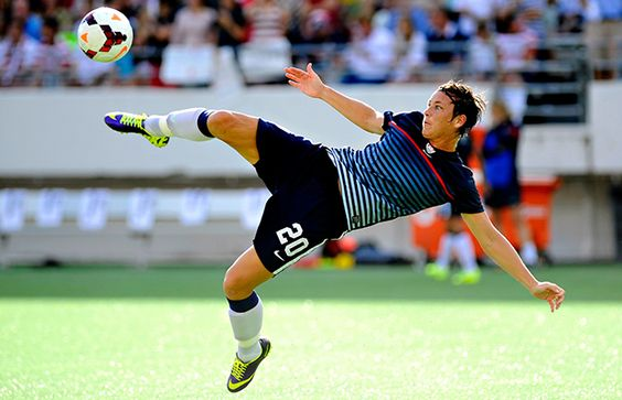Pro soccer player Abby Wambach has played for 12 seasons and scored 168 goals, but she still has her eye on one big goal.