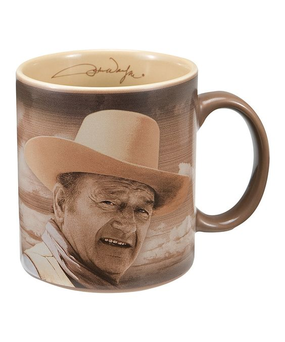 Love this John Wayne 'Fine Morning' Mug by John Wayne on #zulily! #zulilyfinds