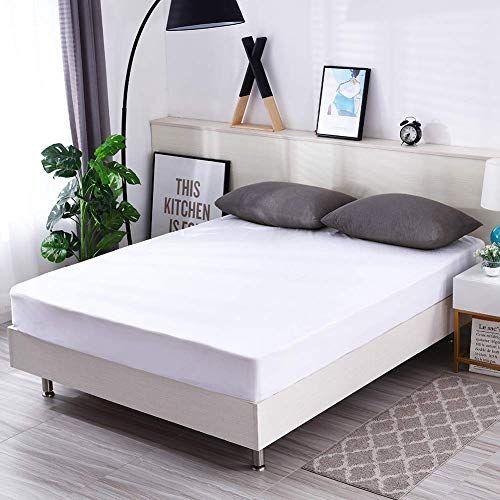 Zhxinashu Waterproof Mattress Protector Bedding Home Hotel Fitted Deep Pocket Queen 152203 46cm King Size Bed Mattress Mattress Luxury Bed Sheets
