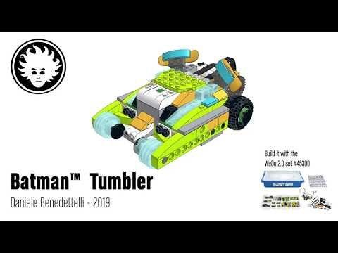Lego Wedo 2 0 Batman Tumbler Batmobile Youtube Lego Wedo Lego Batmobile