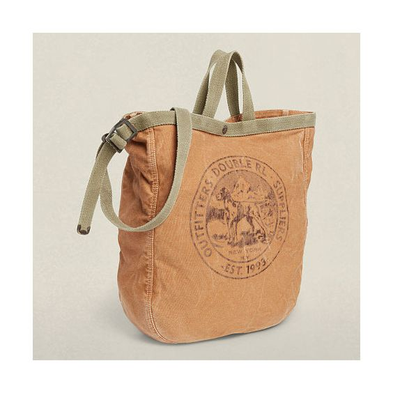 Ralph Lauren Rrl Canvas Market Tote (12.725 RUB) ❤ liked on Polyvore featuring men's fashion, men's bags, mens canvas bags, mens tote bag and ralph lauren mens bags