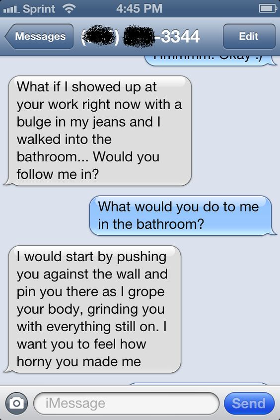 Real sexting conversations examples