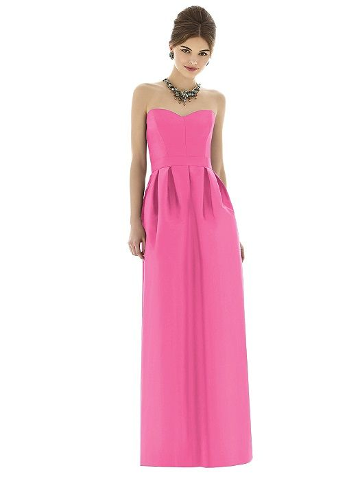Alfred Sung Style D621 http://www.dessy.com/dresses/bridesmaid/d621/?color=strawberry&colorid=633#.VPBlmChcwrg