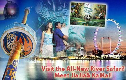 50% off Attractions Cash Voucher – Enjoy Discounted Price for Admission to River Safari, Universal Studios, SEA Aquarium , Underwater World, Singapore Flyer & Many More =>  http://www.coupark.com/deal/65753/50-off-attractions-cash-voucher-enjoy-discounted-price-for-admission-to-river-safari-universal-studios-sea-aquari.html