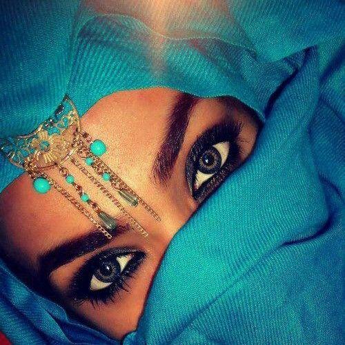 Masha'allah her eyes
