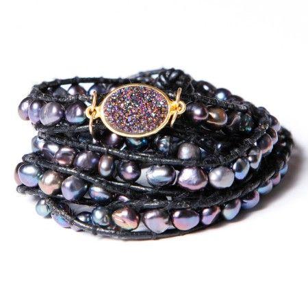 Druzy Jewelry, Druzy Braclets, Monica Mauro