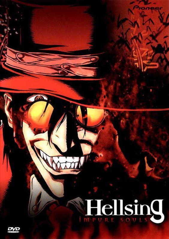 Hellsing 11x17 TV Poster (2001):