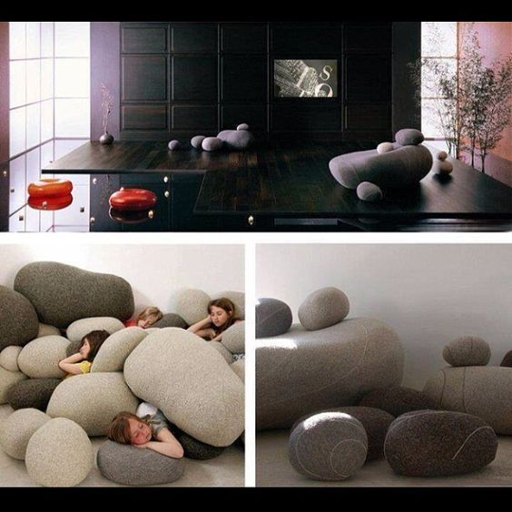 .@Amazing Inventions | Rock Pillows! Visit our website! (search awesomeinventions.com) Follow our MA... | Webstagram - the best Instagram viewer