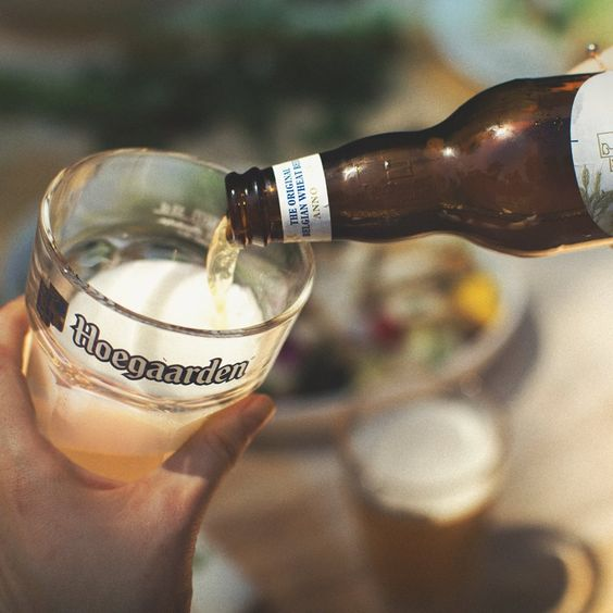 vị ngon của bia Hoegaarden white