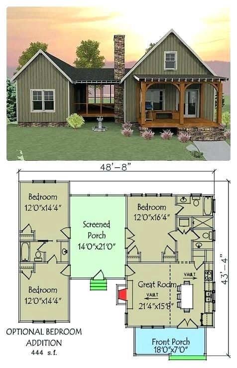 Dogtrot House Floor Plan Captivating Plan 3 Bedroom Dog Trot House Plan Modern Dogtrot Home Floor Plan Vacation House Plans House Plans Dog Trot House Plans