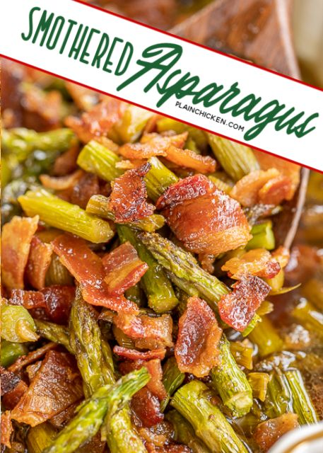 Smothered Asparagus