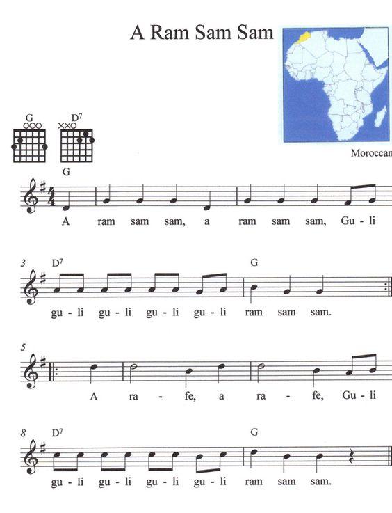 Free sheet music guitar folk songs free sheet music for for Classic house music songs