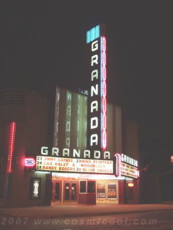 granada theater 2007 granada theater pinterest neon