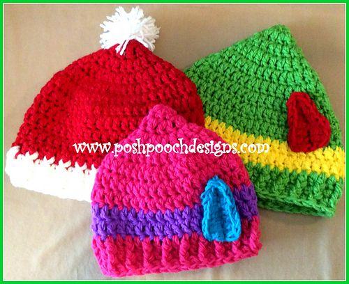 Elf Hat Crochet Pattern by Sara Sach