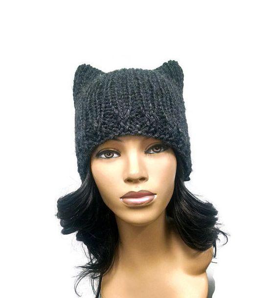 Cat Ear Beanie Pattern Crochet