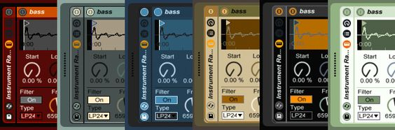 6 Free Skins for Ableton Live 9 by Madeleine Bloom