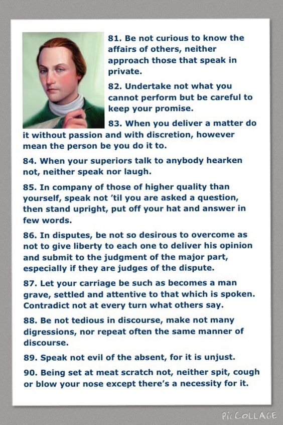 civility Civility in the Workplace Pinterest George - george washington resume