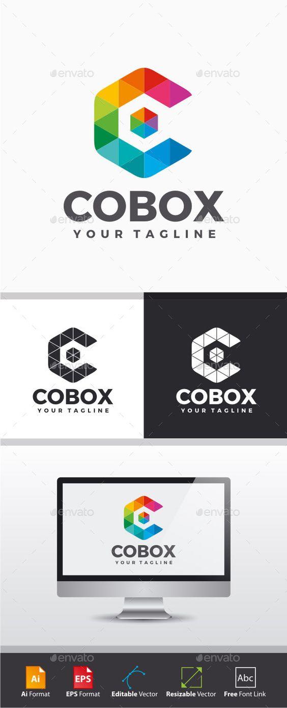 Color Box - Letter C Logo - Letters Logo Templates