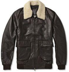 Noel gallagher leather jacket