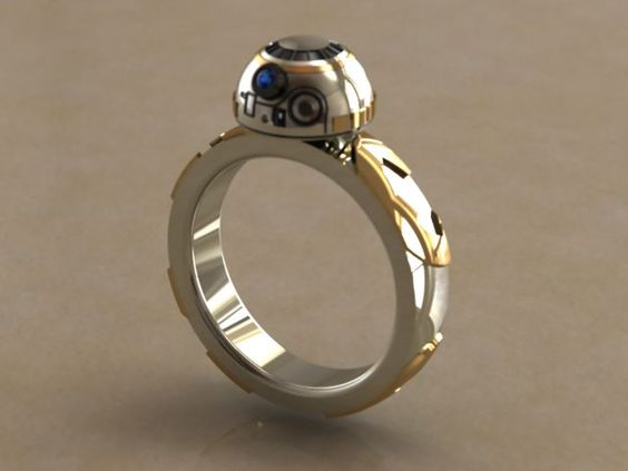 BB-8 ring #StarWars #bb-8 #spherobb8 #bb8 #starwars #friki