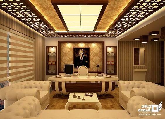 Living Room Luxury Pop Ceiling Design Wowhomy