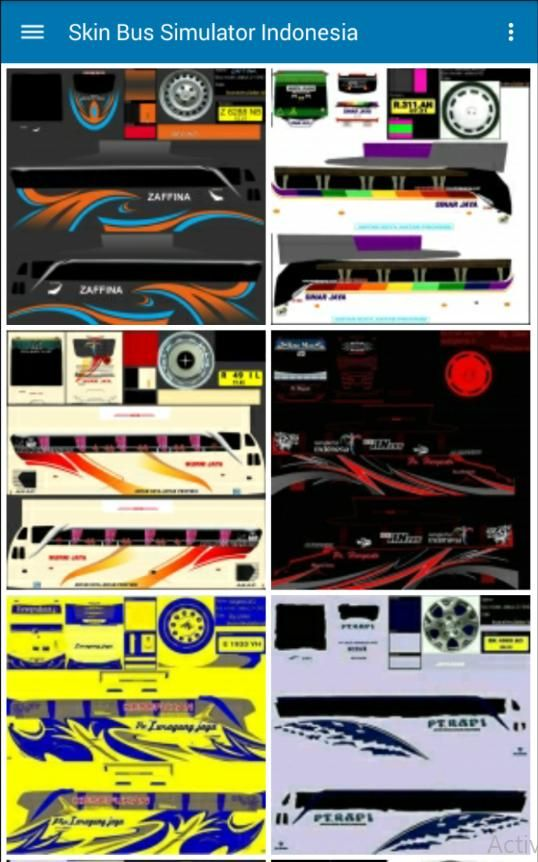 New Skin Bus Simulator Indonesia Bussid For Android Apk Download New Skin Simulation Android Apk