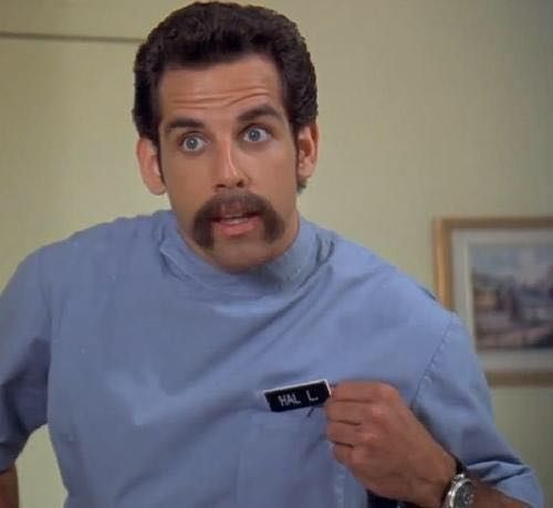 In This Scene In Happy Gilmore Ben Stiller S Character Tells