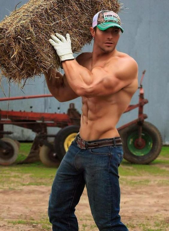 best workout !  lifting and working on a farm…. get out and do stuff: