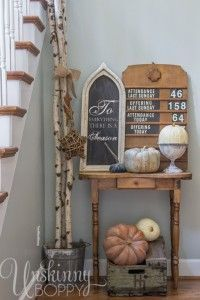 Wow! There are TONS of great Fall Decorating ideas inside this post!