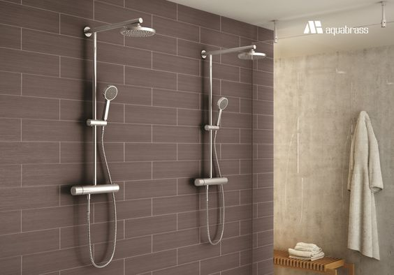 Aquabrass Tekno Showers #Aquabrass #Tekno #Shower