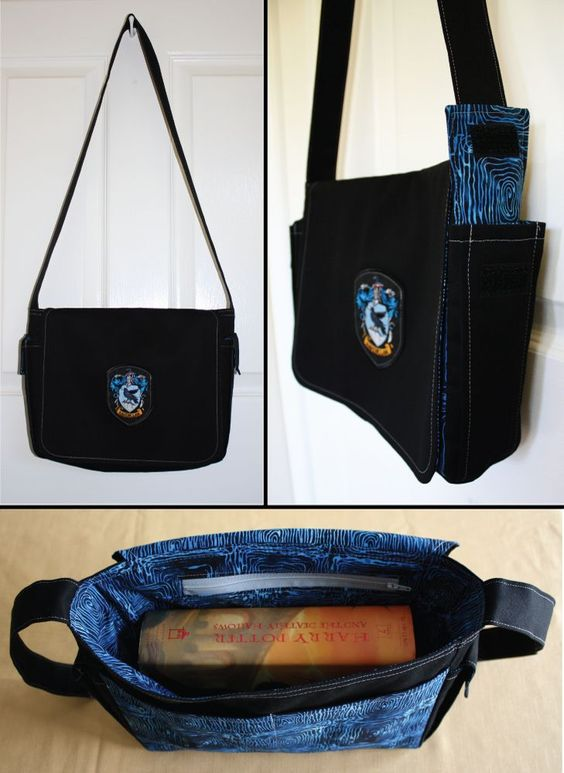 Corvinal bolsa / Harry Potter tema/acessórios |  Harry Potter theme / Harry Potter acessories / Ravenclaw Bag