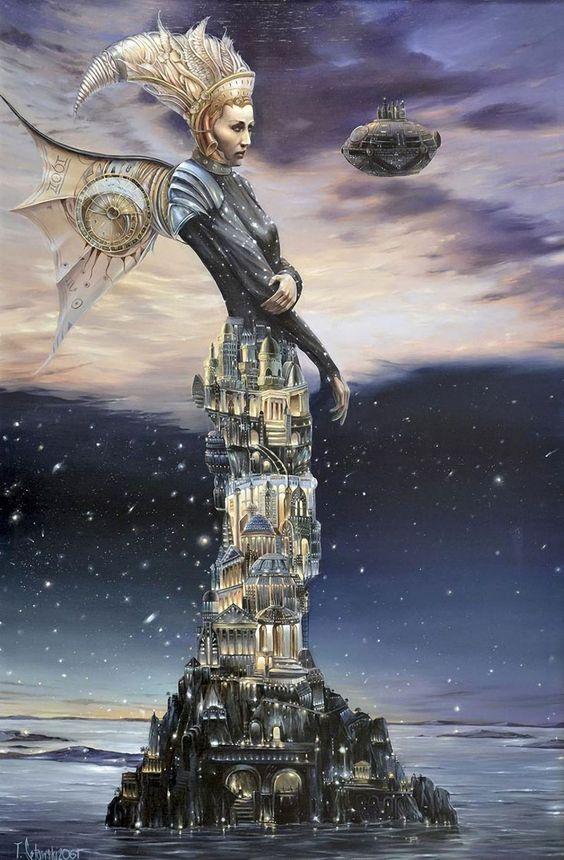 dream factory surreal paintings by tomek setowski faith