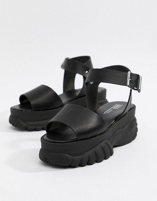 Foxie chunky flatform sandals | ASOS