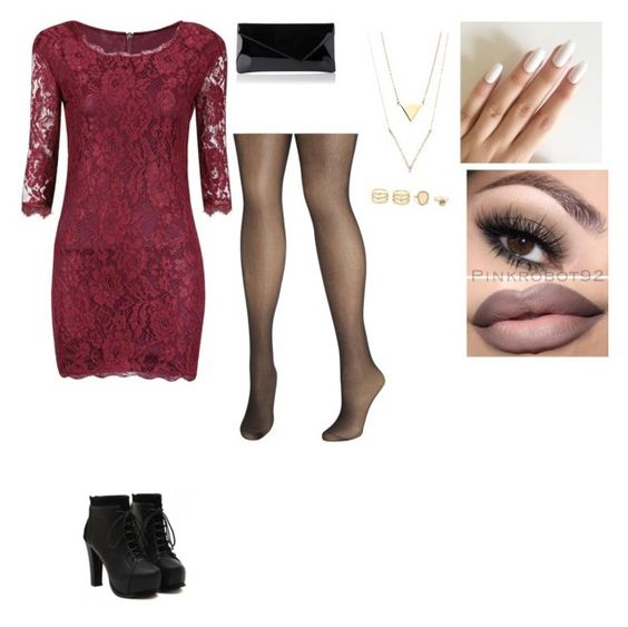 """""""Night at the club"""" by jessicaravenb on Polyvore featuring L.K.Bennett, LULUS and Avenue"""