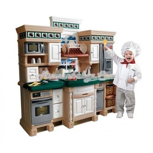 step2 - lifestyle deluxe kitchen this incredible play kitchen from